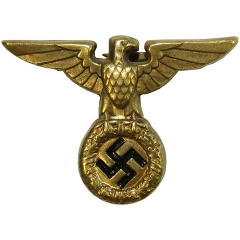 Hangbag Newspapers M27 1927 model nsdap eagle for sa and ss brass excellent