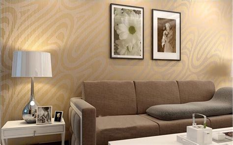 Wallpaper Dinding Klasik Merah Gold Shiny 65 desain wallpaper dinding ruang tamu minimalis terbaru dekor rumah