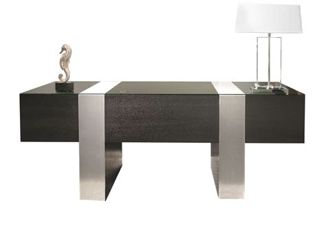 Modern Black Desk Sh02 Wenge Color Desk Executive