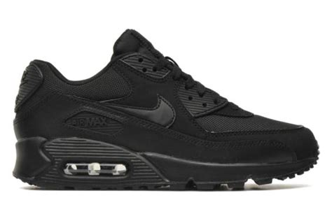 Air Max 90 Schwarz 3658 by Nike Nike Air Max 90 Essential Noir Baskets Chez