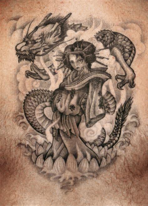 tattoo geisha bedeutung rock n road tattoo japanische tattoo motive