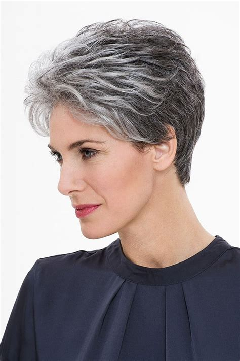 hairstyle ideas for grey hair hairstyles short grey hair fade haircut