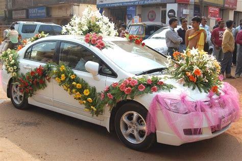 wedding car decoration 49 flower n petals