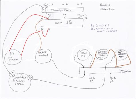 Branchement Ventilateur De Plafond Avec Lumière by Probl 232 Me De Branchement Bobine Auto Maintien Pour Commande