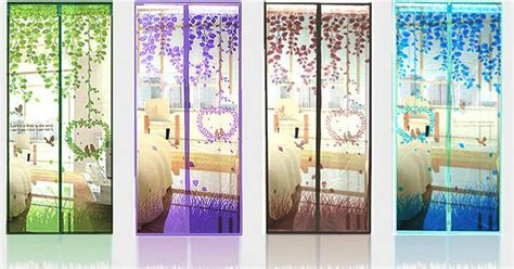 Sale Tirai Magnet Murah tirai magnet anti nyamuk motif birds door magnetic curtain net 661 barang unik china