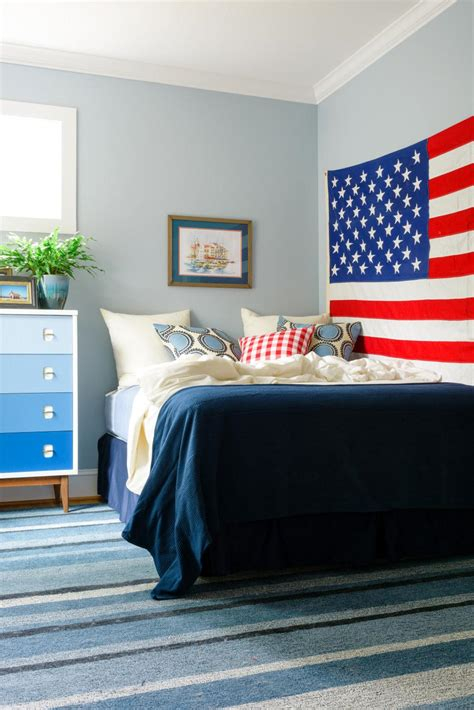 americana bedroom adding vintage americana style to a guest bedroom hgtv
