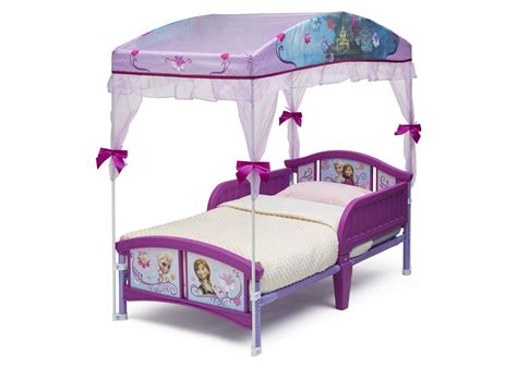 Frozen Bed Canopy Frozen Toddler Canopy Bed Delta Children S Products