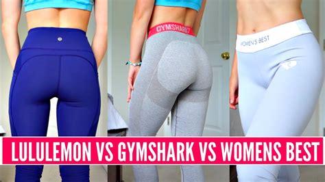 leggings review   lululemon  gymshark  womens
