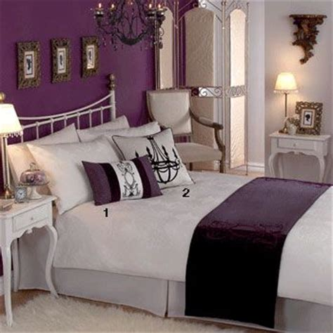 plum colors for bedroom walls plum bedroom inside the home pinterest