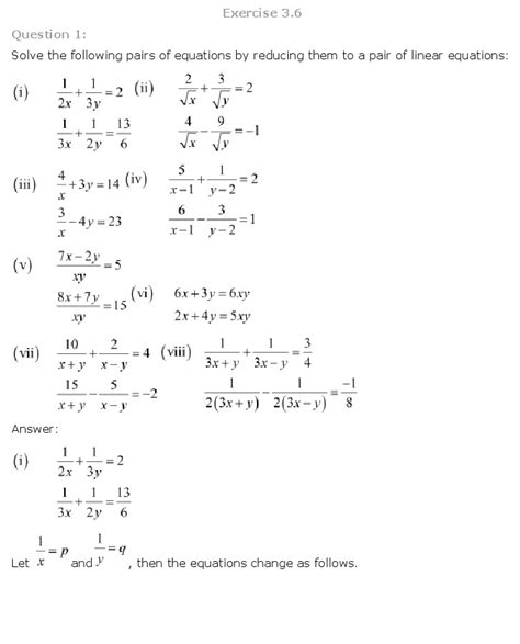 Linear Equations In Two Variables Worksheets by 1 3 Linear Equations In Two Variables Worksheet Answers