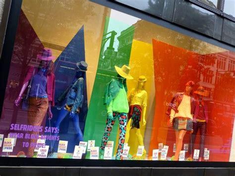 color wheel for visual merchandising the window lane bringing the spring spirit global display