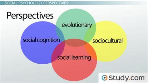 what are the seven contemporary perspectives in psychology major perspectives of social psychology lesson
