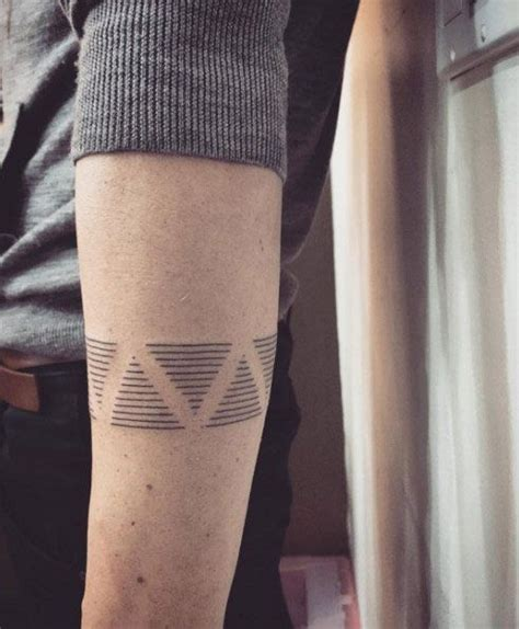 linear tattoos boys tattoos for and armband on