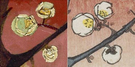 fiori di gogh albero di prugna in fioritura di gogh analisi
