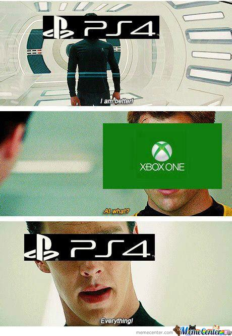 Ps4 Meme - xbox one and ps4 meme by crunchzmemes meme center