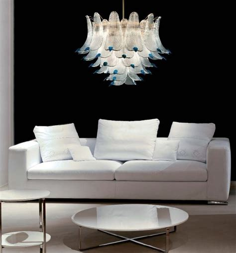 Modern Pendant Lights Adelaide Murano Glass Lighting And Chandeliers Location Shotsd Modern Living Room Adelaide By
