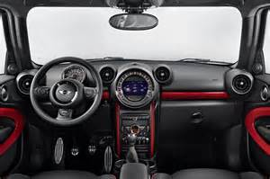 photo cooper works paceman interieur