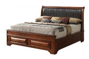size king bed frame storage