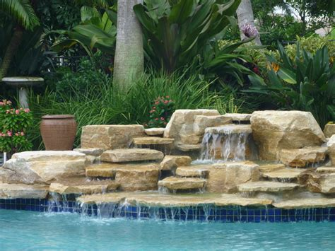 pool fountains and waterfalls pool waterfall delray beach florida by matthew giietro