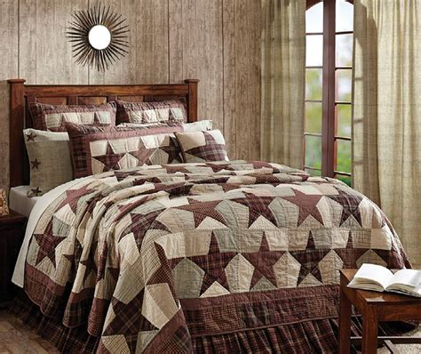 primitive bedding coverlets abilene star bedding from the quilt cottage http www