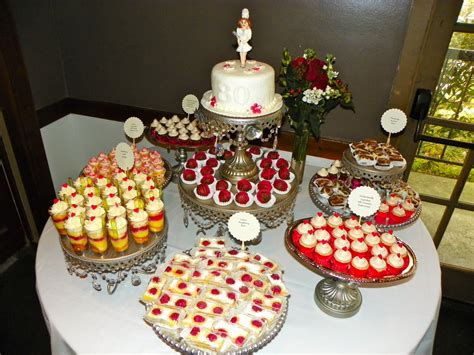 plumeria cake studio 80th birthday dessert buffet