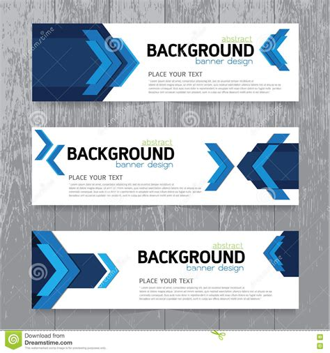 design banner simple vector background banner collection horizontal business
