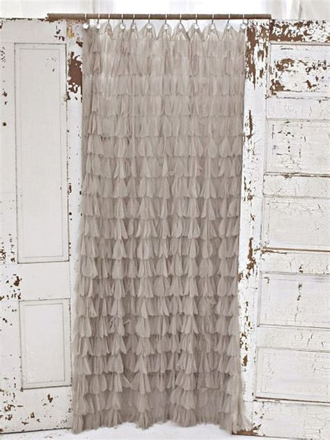 romantic curtains and drapes couture dreams chichi shower curtains