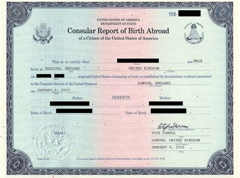 Consular Record Of Birth Abroad Child Citizenship Act Of 2000 Immigration Attorney Visa Office In Los Angeles