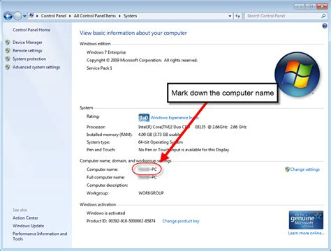 How To Find By Name Show Computer Name On Desktop Win7