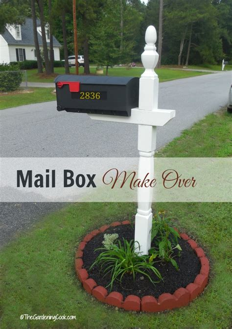 curb appeal mailbox mail box makeover creates curb appeal