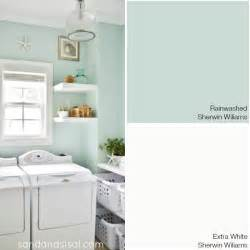 rainwashed paint color my coastal colors coastal colors laundry and laundry rooms