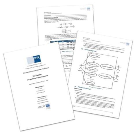 Word Vorlage Projektdokumentation Microsoft Word Libreoffice Vorlage F 252 R Die Projektdokumentation Der It Berufe