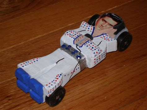 pinewood derby car boys life magazine