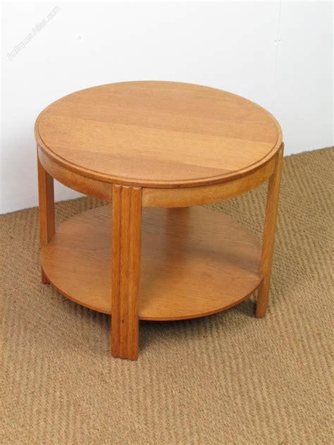 Side Tables As Coffee Table Deco Oak Coffee Side Table Antiques Atlas