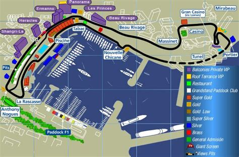 chagne nowack layout prix monaco grand prix circuit traits and changes