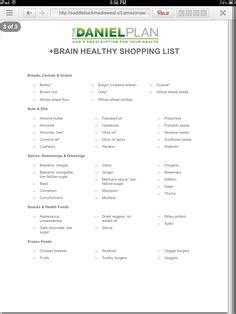 Daniel Fast Detox by Shopping List For The Daniel Plan Recipes