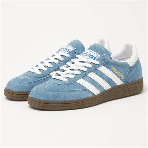 adidas handball spezial adidas handball spezial blue sneaker 033620 stuarts london