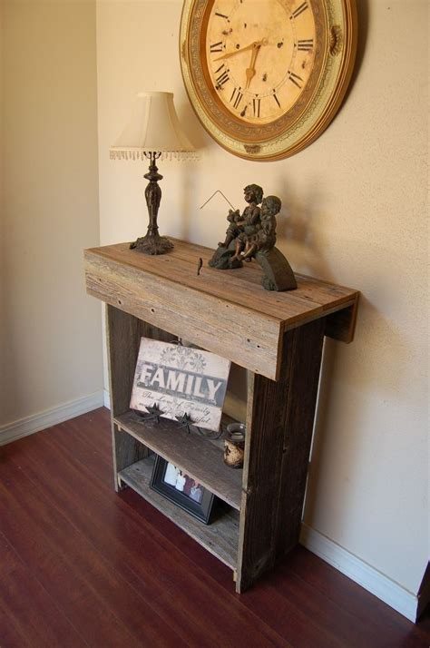 rustic farmhouse console table best 25 rustic console tables ideas on diy