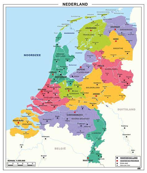 Or Nederland Schoolkaart Nederland 462 Kaarten En Atlassen Nl
