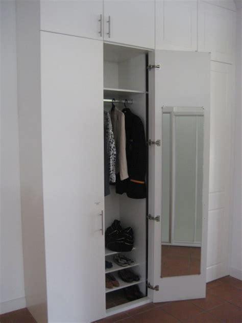 Mirror Inside Wardrobe Door painted timber wardrobe doors
