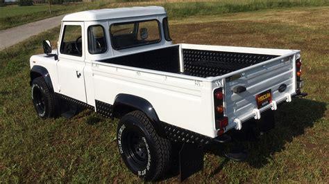 land rover 110 truck 1986 land rover defender 110 pickup s96 anaheim 2016