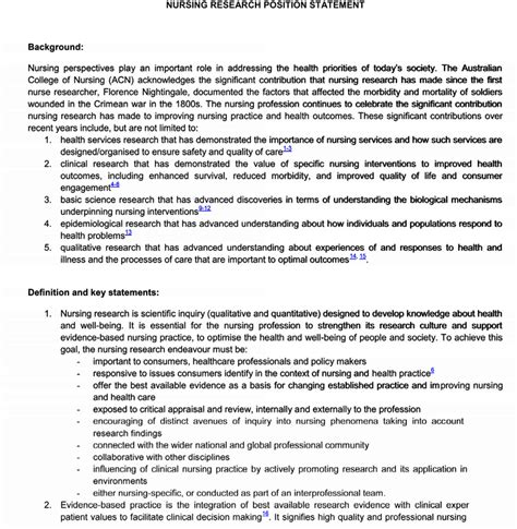 Writing An Academic Research Statement Guidelines With Exles Research Statement Template