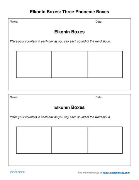 elkonin boxes worksheets fioradesignstudio