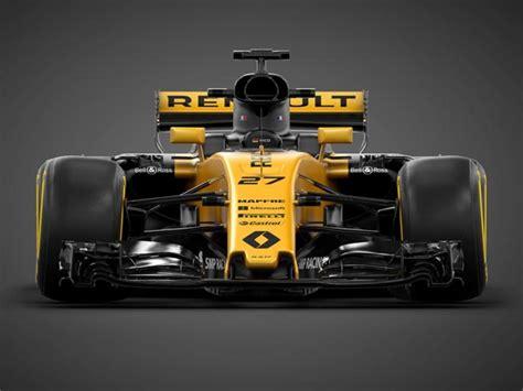 renault unveils its 2017 formula 1 car targets top 5