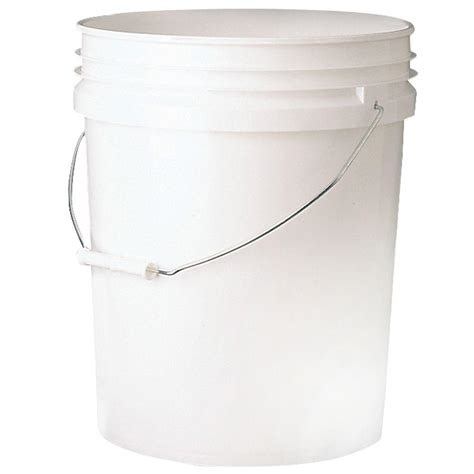 Home Depot Home Decor leaktite 5 gal bucket 5gl white pail the home depot