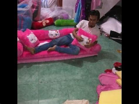 Jual Sofa Bed Anak Karakter sofa bed karakter bahan rasfur semarang jakarta surabaya
