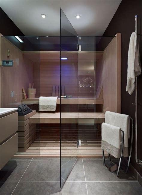 baignoire avec porte 892 die besten 25 badezimmer mit sauna ideen auf