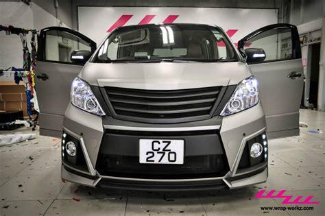 Tomica Toyota Alphard Custom Bodykit 1 toyota alphard gets matte grey wrap in hong kong autoevolution