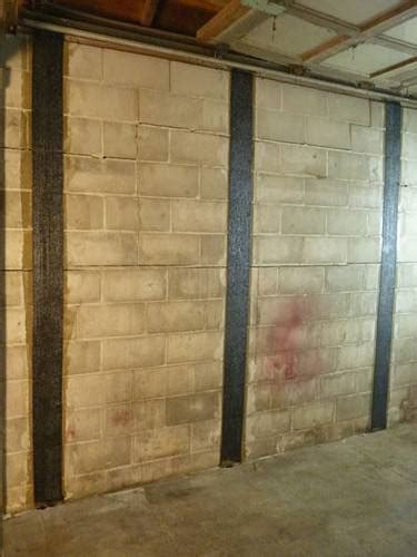carbonarmor wall reinforcing system for foundation wall