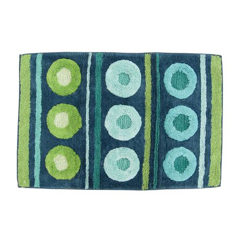 On A Dot Decorative Bath Rug Decorative Bathroom Rugs